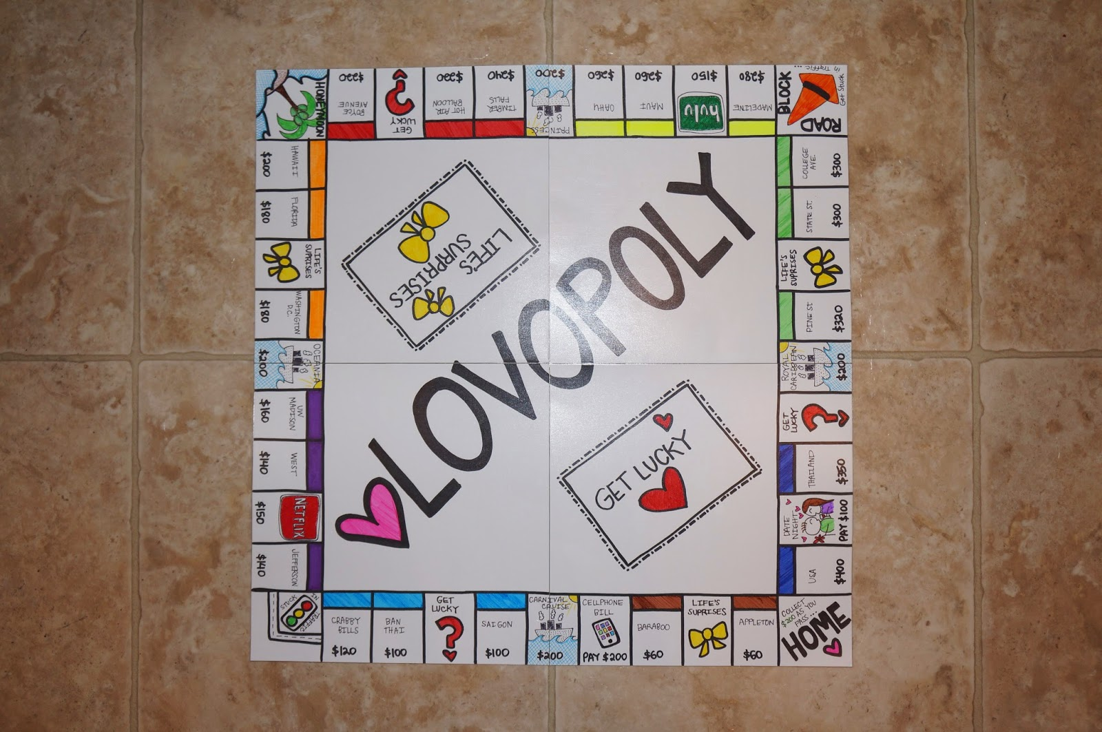 Liifewithanna Lovopoly