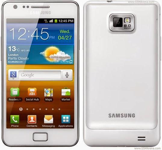 Samsung I9100M Galaxy S II Firmwares