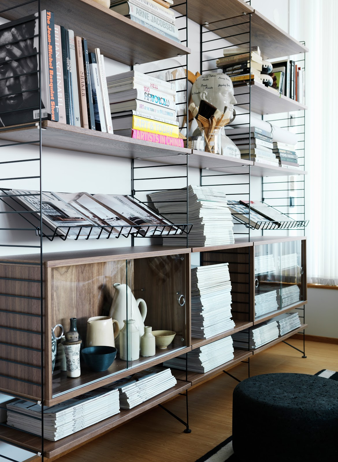 kreativa kvadrat ab weekly inspiration stringhyllan. Black Bedroom Furniture Sets. Home Design Ideas