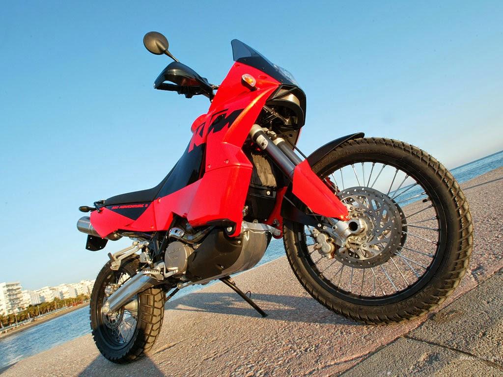 KTM 950 Adventure S Red Bikes Wallpapers