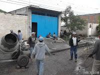 pavimentación en Iramuco