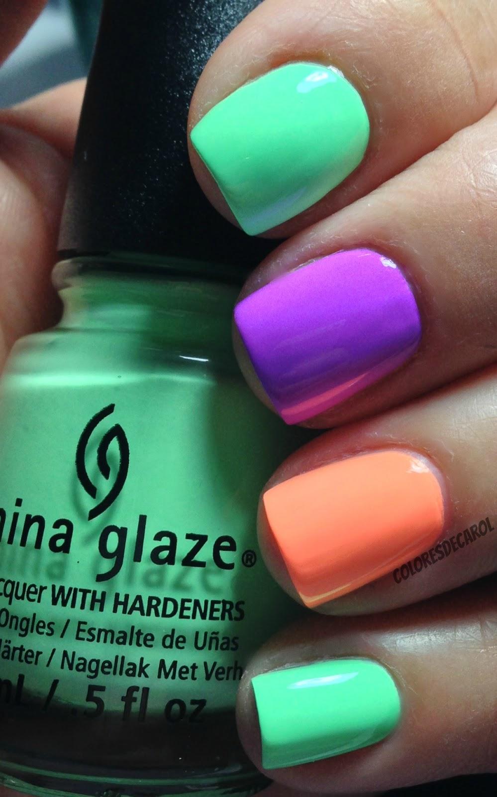 Único Color De Las Uñas Verano Viñeta - Ideas Para Pintar Uñas ...