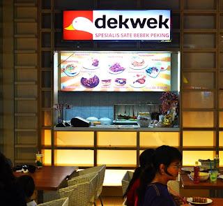 Dekwek Resto, Spesialis Sate Bebek Peking