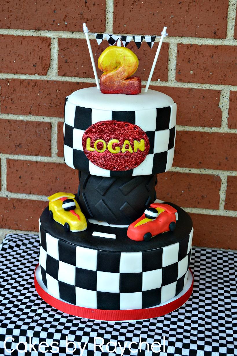 My Creative Way Fondant Race Car Cake