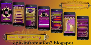 BBM Mod Purple Gold apk v290.0.0.29 + List Anim