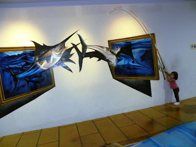 Seriland 3D paintings
