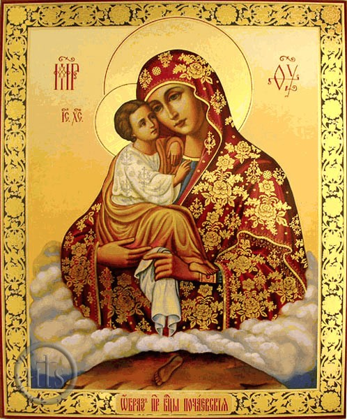 Pochaev Icon of the Mother of God dans immagini sacre Pochaev%2BIcon%2B%2528Western%2529