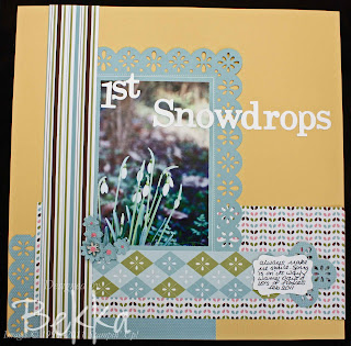 Stampin' Up! Scrapbook Club Page