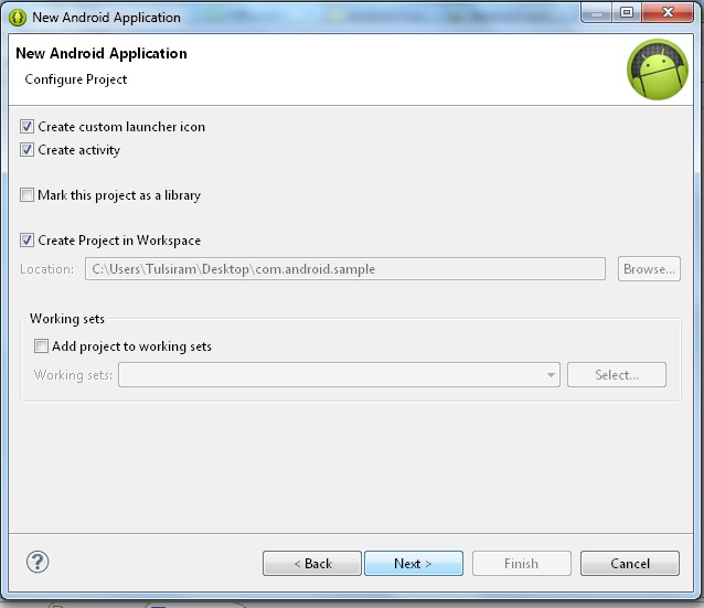 intellij how to create first java application