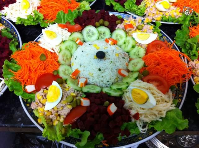 Les f es d 39 un soir prestations - Decoration de plat pour buffet froid ...