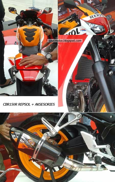 Aksesoris Honda CBR150R Lokal lengkap