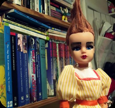 Punk Sindy doll