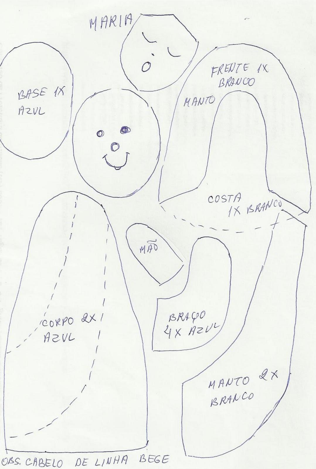 Adesivo De Unha Bailarina ~ Artesanato Nininora Artesanatos e moldes