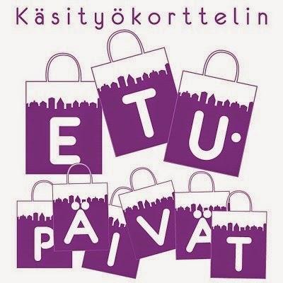 Käsityökorttelin ETUpäivät 28.-30.11.