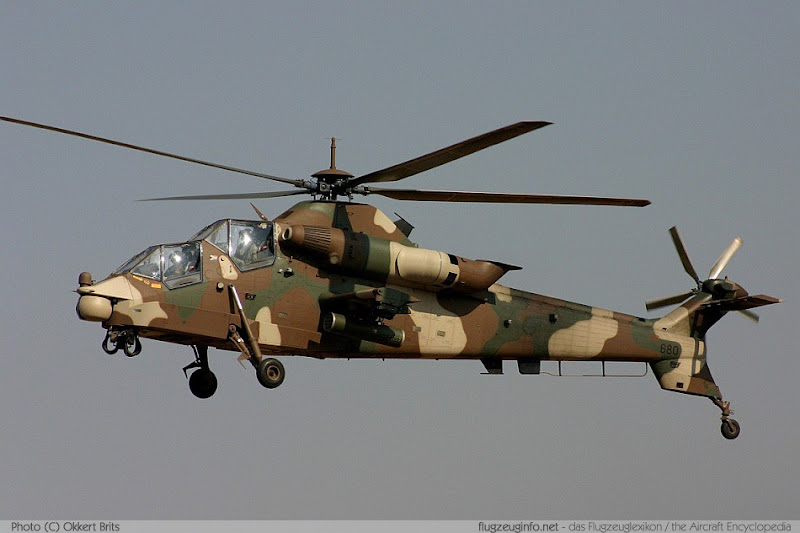 AH-2 Rooivalk Combat Helicopter