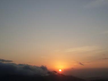 Sol Visto do Maciço da Urca - Rio de Janeiro