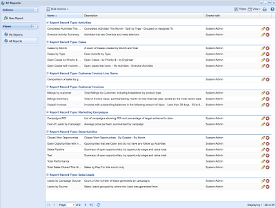 Übersicht über die verschiedenen Reports in Workbooks