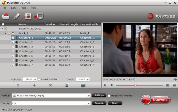DVD Ripper for personal networked library