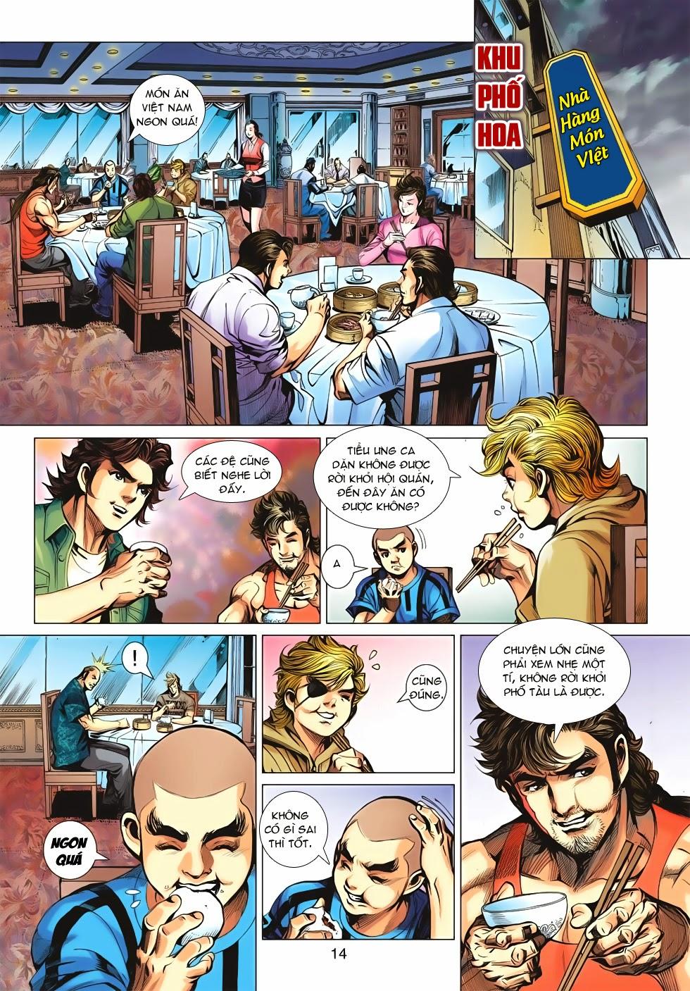 Tân Tác Long Hổ Môn chap 659 - Trang 14