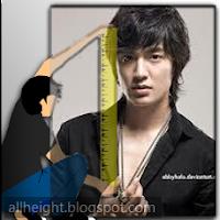 Lee Min-ho Height - How Tall
