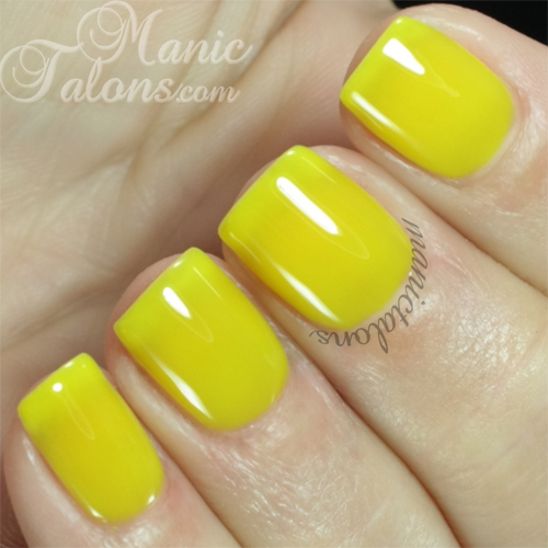 Madam Glam #332 Neon Yellow Swatch