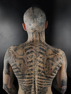 Extreme Tattoos Full Body Tattoo Design