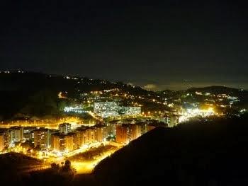 San Antonio de los Altos, vista nocturna