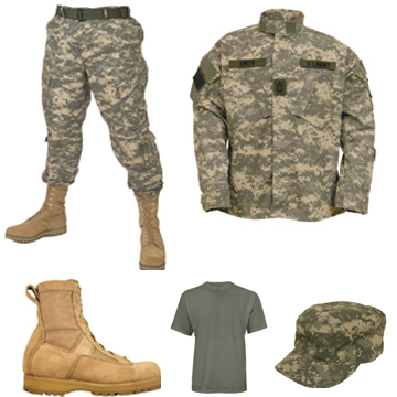 You Can Choose Army Clothing For Yourself In Your Life