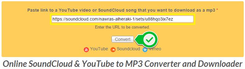 شرح التحميل من موقع SoundCloud بدون برامج ( أفضل طريقة ) و التحميل من موقع يوتيوب وVimeo