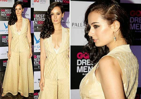 Evelyn Sharma At GQ India's Best Dressed Men 2014 Awards