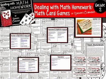 http://www.teacherspayteachers.com/Product/Dealing-with-Math-Homework-Math-Card-Games-Unit-from-Teachers-Clubhouse-1123978