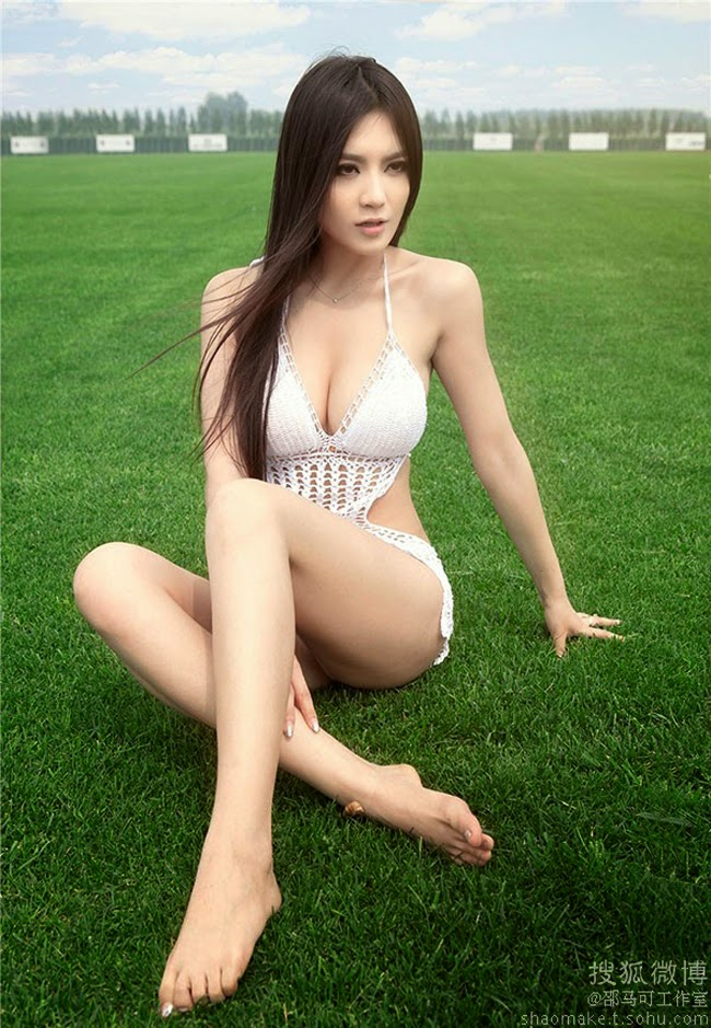 Young actress Candice Zhao