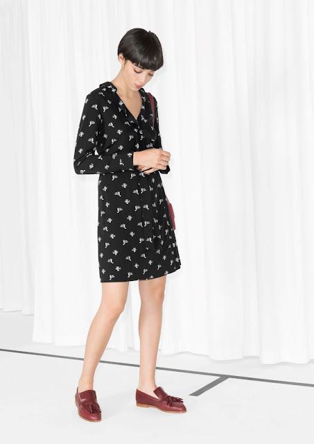 black cactus dress, cactus dress, cactus print dress,