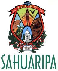 sahuaripa men Google maps.