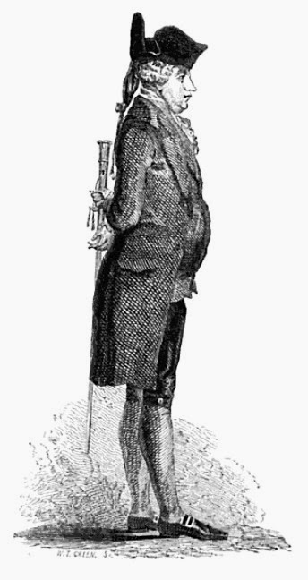 James Boswell from The Life of Samuel  Johnson by J Boswell (1851 edition)