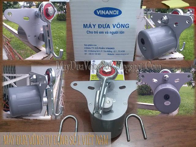 Máy đưa võng tự động cho trẻ em và người lớn Vinanoi Vn365 version 2 đưa võng đến 65kg.