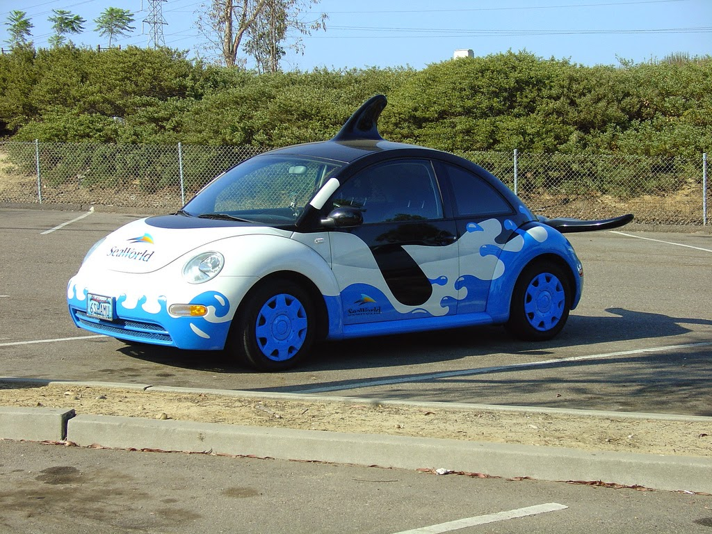 Sea World VW Beatle