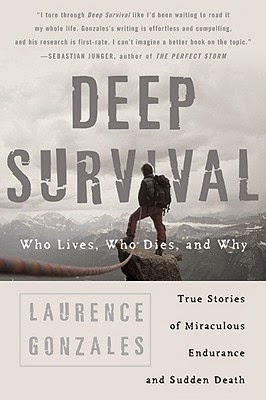 Deep Survival by Laurence Gonzales and stoicism