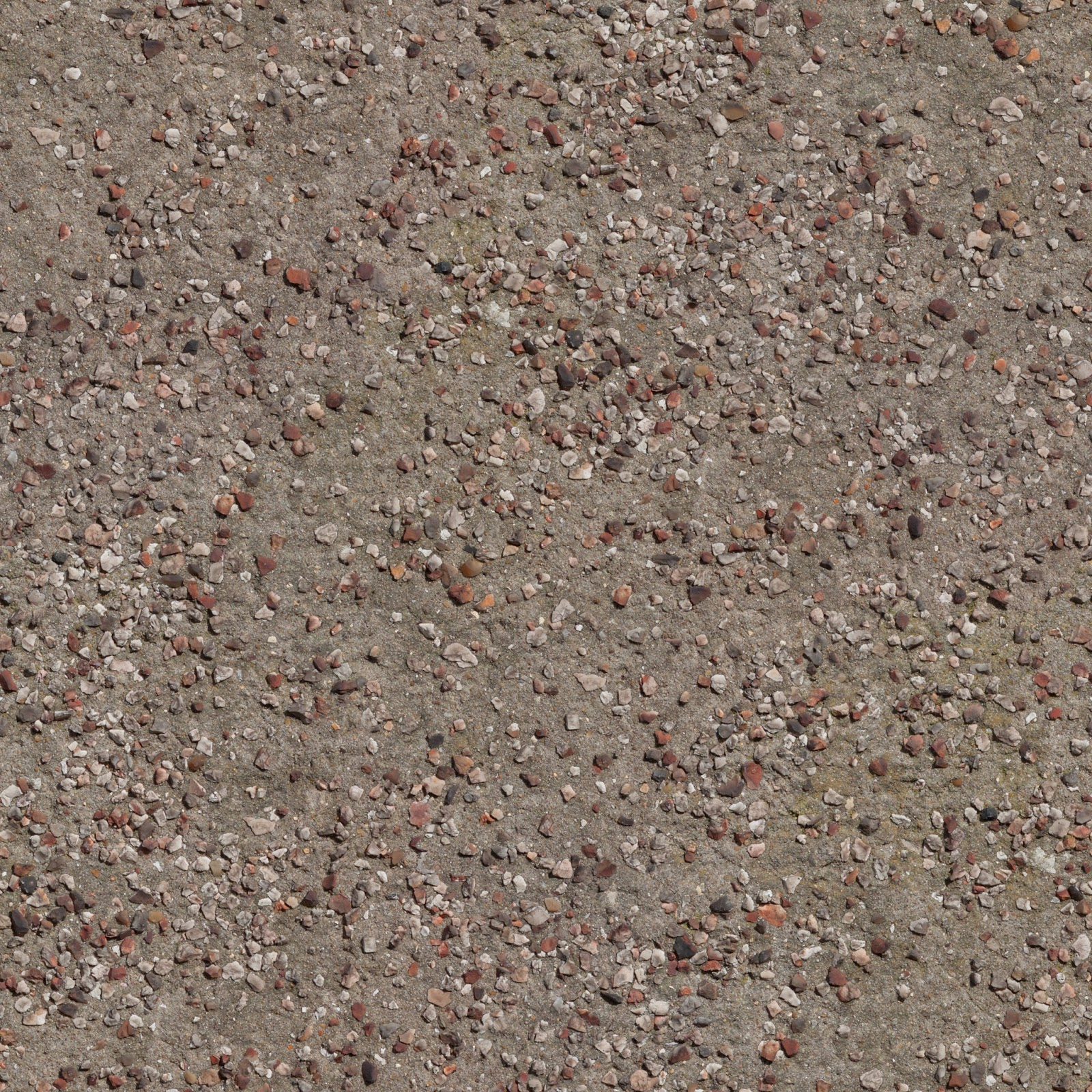 Seamless stones on dirt floor texture