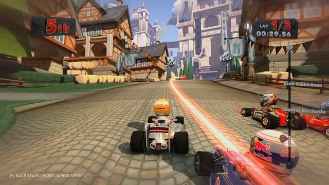Download Game đua xe : F1 RACE STARS - Game đua xe vui nhộn