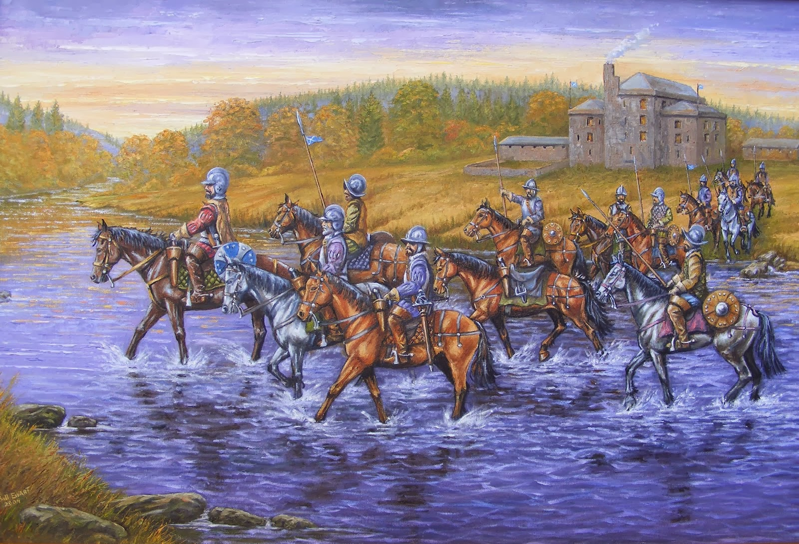 A blog about the history of the Border Reivers from the 13th to the 17th centuries.