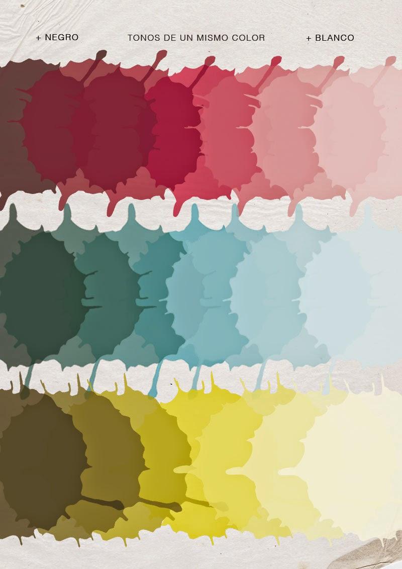 C mo aplicar color a la reposter a con una selecci n de - Colores que contrastan con el gris ...