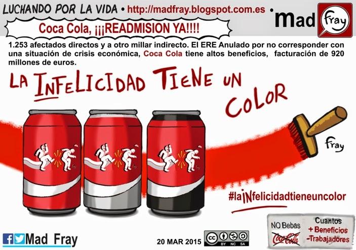La infelicidad tiene un color Coca Cola