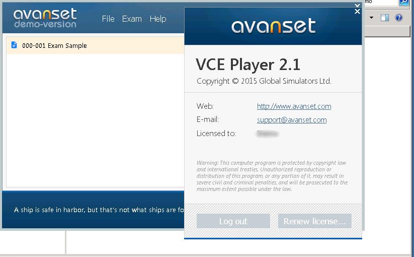 Avanset Exam Simulator crack