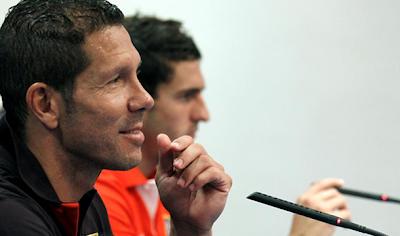 """Simeone: """"Los equipos importantes nunca miran para atrás"""""""