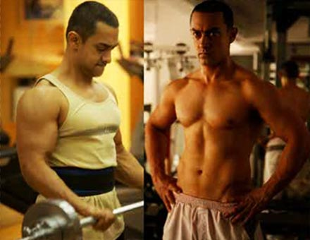 Dhoom 3 Aamir Khan Body
