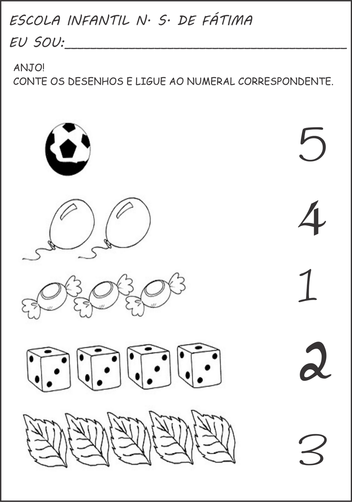 Top Atividades de matemática, numerais e quantidade - A Arte de  AX08