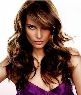 model rambut keriting terbaik