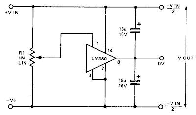 subwoffer wiring diagram Simple split power supply circuit Diagram