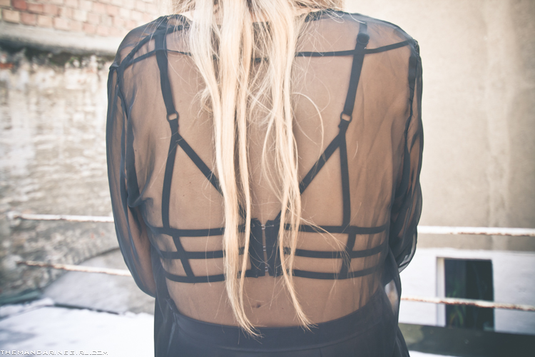 Nasty Gal cutout top